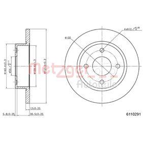 METZGER Ένδειξη φθοράς 6110291