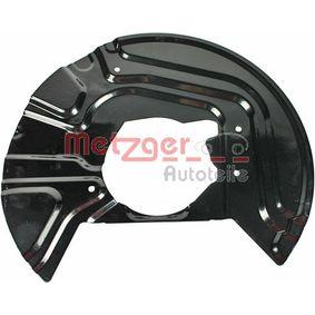 METZGER Bremsblech 6115040