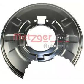 X3 (E83) METZGER Spritzblech 6115041