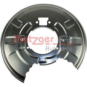 METZGER Bremsscheiben Schutzblech (6115041)