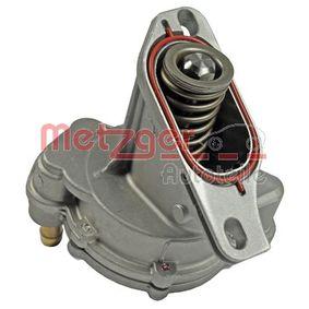METZGER Unterdruckpumpe Bremsanlage 8010009