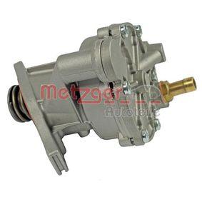Unterdruckpumpe, Bremsanlage 8010009 METZGER
