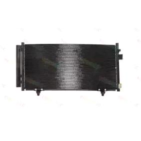THERMOTEC Kondensator, Klimaanlage 73210SC012 für VOLVO, SUBARU, ARO bestellen