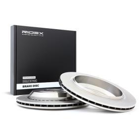 M-класа (W164) RIDEX Комплект спирачни дискове 82B0575
