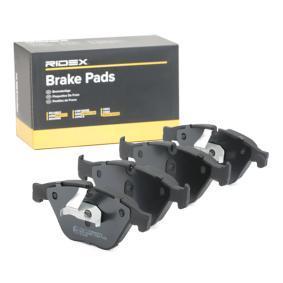 34116775314 für BMW, JAGUAR, Bremsbelagsatz, Scheibenbremse RIDEX (402B0553) Online-Shop