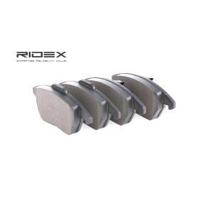 Juego de pastillas de freno 402B0474 RIDEX