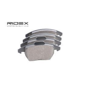 Ibiza IV ST (6J8, 6P8) RIDEX Pastillas de freno 402B0474