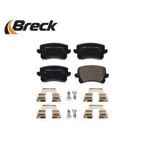 3C0698451F für VW, AUDI, SKODA, SEAT, PORSCHE, Bremsbelagsatz, Scheibenbremse BRECK (24483 00 704 10) Online-Shop