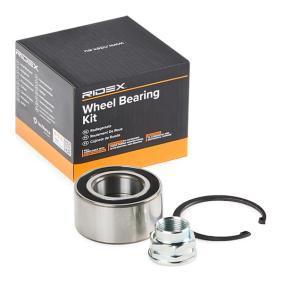 PANDA (169) RIDEX Wheel hub bearing 654W0097