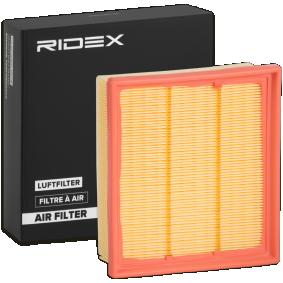 Luftfilter RIDEX Art.No - 8A0279 OEM: 95513087 für OPEL, DAEWOO, BEDFORD, GMC, VAUXHALL kaufen