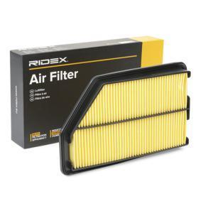 CIVIC VIII Hatchback (FN, FK) RIDEX Air filter 8A0152