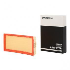 Luftfilter RIDEX Art.No - 8A0513 OEM: F43X9601BB für FORD, FORD USA kaufen