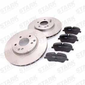 STARK Bremsensatz, Scheibenbremse A210421241264 für MERCEDES-BENZ bestellen