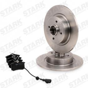STARK SKBK-1090089 Bremsensatz, Scheibenbremse OEM - JZW698451F AUDI, SEAT, SKODA, VW, VAG günstig