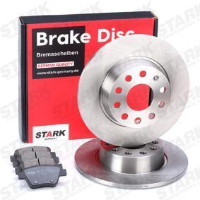 561615601 für VW, AUDI, SKODA, SEAT, Bremsensatz, Scheibenbremse STARK (SKBK-1090092) Online-Shop