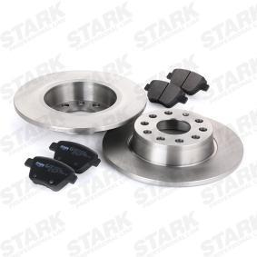 STARK SKBK-1090092 Bremsensatz, Scheibenbremse OEM - 561615601 AUDI, SEAT, SKODA, VW, VAG günstig