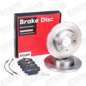 CLIO II (BB0/1/2_, CB0/1/2_) STARK Bremsscheiben und Klötze SKBK-1090094