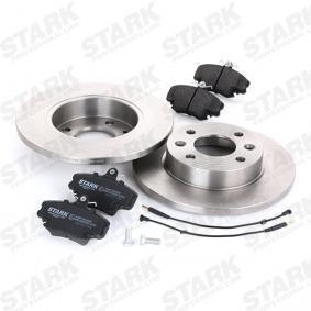 STARK SKBK-1090094 Bremsensatz, Scheibenbremse OEM - 7701210131 LADA, PEUGEOT, RENAULT, DACIA, RENAULT TRUCKS, EUROBRAKE günstig
