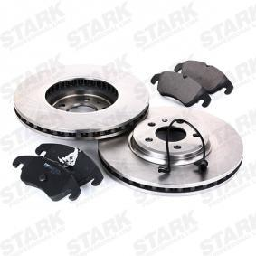 STARK SKBK-1090102 Bremsensatz, Scheibenbremse OEM - 8R0698151A AUDI, PORSCHE, SEAT, SKODA, VW, VAG, TRW, A.B.S., GIRLING, OEMparts günstig
