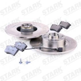 STARK SKBK-1090119 Bremsensatz, Scheibenbremse OEM - JZW698451F AUDI, SEAT, SKODA, VW, VAG günstig
