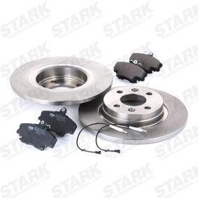 STARK Bremsscheiben und Bremsbeläge SKBK-1090124