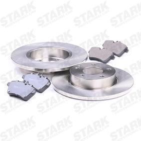 STARK SKBK-1090161 Bremsensatz, Scheibenbremse OEM - 1694202120 MERCEDES-BENZ günstig