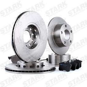 STARK SKBK-1090175 Kit frenos, freno de disco OEM - 1JD698451A SKODA, VW, VAG, MINTEX, SATURN, VW (FAW), VW (SVW), SKODA (SVW) a buen precio