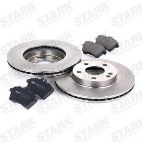 STARK SKBK-1090180 Bremsensatz, Scheibenbremse OEM - 1694202120 MERCEDES-BENZ günstig