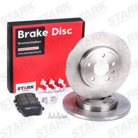 4F0698451D für VW, AUDI, SKODA, SEAT, HONDA, Bremsensatz, Scheibenbremse STARK (SKBK-1090185) Online-Shop