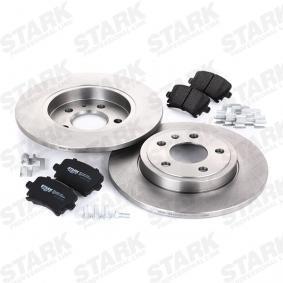 STARK SKBK-1090185 Bremsensatz, Scheibenbremse OEM - 5N0698451 AUDI, PORSCHE, SEAT, SKODA, VW, VAG, HELLA, METELLI, A.B.S., BRINK, HELLA PAGID, fri.tech., sbs, VW (SVW), OEMparts günstig