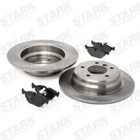 STARK SKBK-1090187 Bremsensatz, Scheibenbremse OEM - 34212157591 BMW, BILSTEIN, sbs günstig