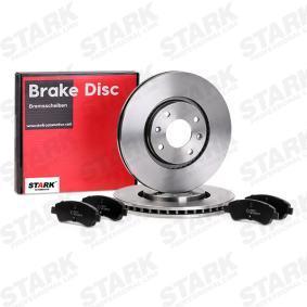 1617282980 for PEUGEOT, CITROЁN, DS, Brake Set, disc brakes STARK (SKBK-1090191) Online Shop
