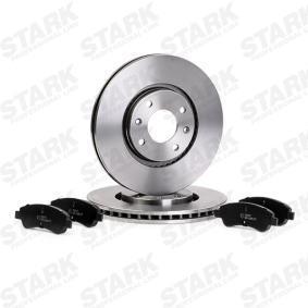 STARK SKBK-1090191 Brake Set, disc brakes OEM - 1612293980 CITROËN, PEUGEOT, RELIANCE, KEY PARTS, DS cheaply