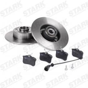 STARK SKBK-1090197 Bremsensatz, Scheibenbremse OEM - 8200038305 RENAULT, DACIA, RENAULT TRUCKS, APEC braking, ROTINGER günstig