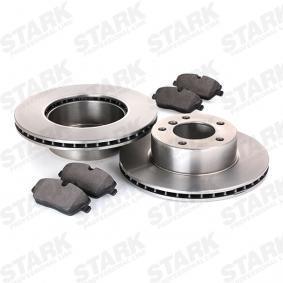 STARK SKBK-1090217 Bremsensatz, Scheibenbremse OEM - 34116792215 BMW, MINTEX, AKEBONO, REMSA, A.B.S. günstig
