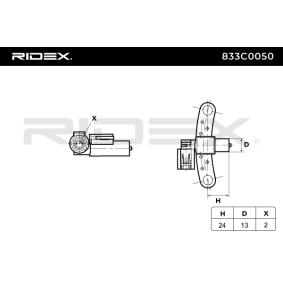 RIDEX Motorelektrik (833C0050)