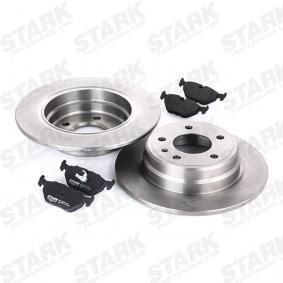 STARK SKBK-1090221 Bremsensatz, Scheibenbremse OEM - 34212157574 BMW, ROVER, BMW (BRILLIANCE) günstig