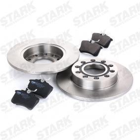 STARK SKBK-1090243 Kit frenos, freno de disco OEM - 1JD698451A SKODA, VW, VAG, MINTEX, SATURN, VW (FAW), VW (SVW), SKODA (SVW) a buen precio