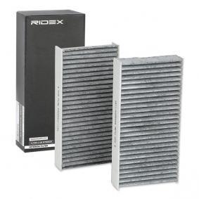 RIDEX Filtro aire habitáculo 424I0233