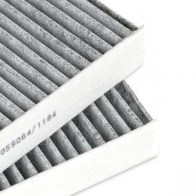 RIDEX HONDA CIVIC Filtro de habitáculo (424I0233)