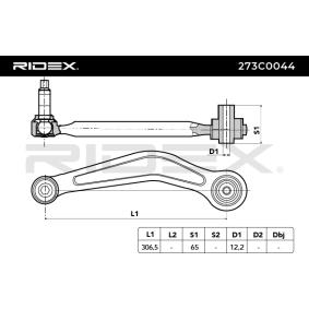 RIDEX BMW 5er Querlenker (273C0044)