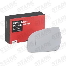 Spiegelglas, Außenspiegel STARK Art.No - SKMGO-1510024 OEM: 8K0857535E für AUDI kaufen