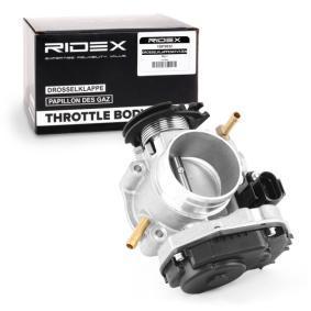 06A133064J für VW, AUDI, SKODA, SEAT, BEDFORD, Drosselklappenstutzen RIDEX (158T0010) Online-Shop