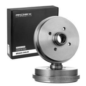 171501615 für VW, AUDI, SKODA, SEAT, PORSCHE, Bremstrommel RIDEX (123B0036) Online-Shop