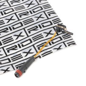 407W0002 Warnkontakt, Bremsbelagverschleiß von RIDEX Qualitäts Ersatzteile