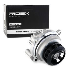 06B121011H für VW, AUDI, SKODA, SEAT, PORSCHE, Wasserpumpe RIDEX (1260W0030) Online-Shop