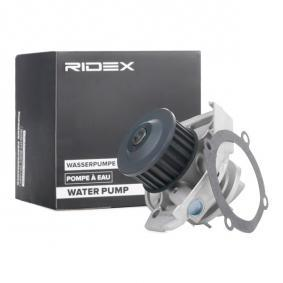 PANDA (169) RIDEX Water pump 1260W0114