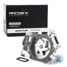 TWINGO II (CN0_) RIDEX Wasserpumpe 1260W0043