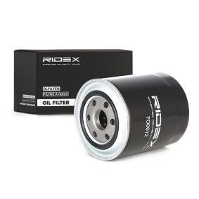 Маслен филтър RIDEX Art.No - 7O0012 OEM: RF2A14302A за MAZDA, HYUNDAI, KIA, MERCURY купете