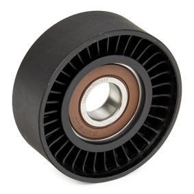 RIDEX 310T0033 Spannrolle, Keilrippenriemen OEM - 6112000270 MERCEDES-BENZ, SMART, VAICO, SAMPA, MICHELIN EngineParts günstig